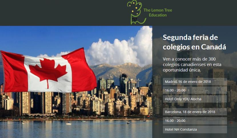 Feria de colegios en Canada