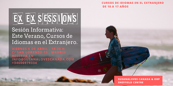 Sesión EXEX, Cursos de Verano de Idiomas en el Extranjero
