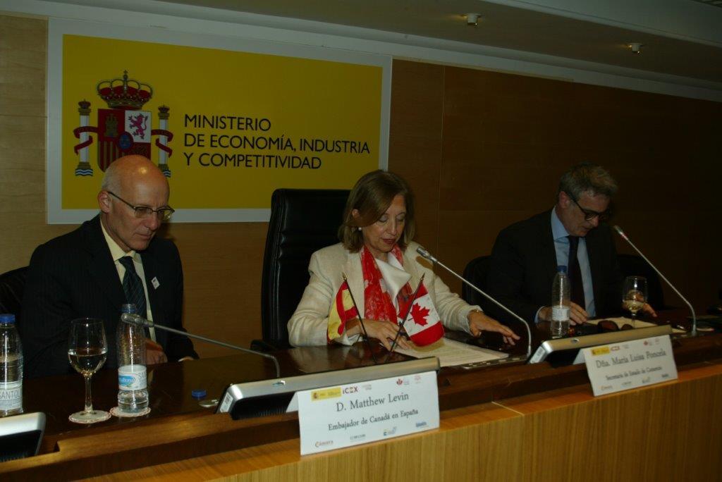 Panel de las relaciones comerciales entre España y Canadá foto 4