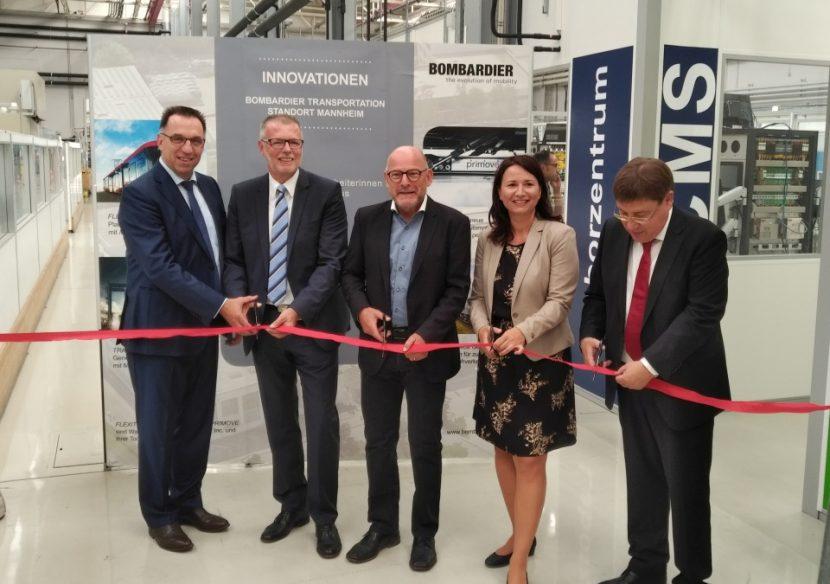 Laboratorio de alta tecnología ferroviaria en Mannheim