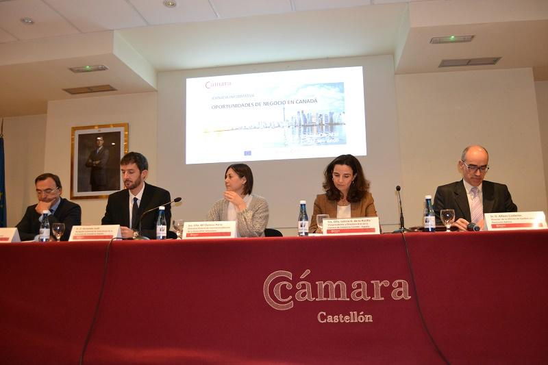 Jornada Castellon Camara De Comercio Canada Espana