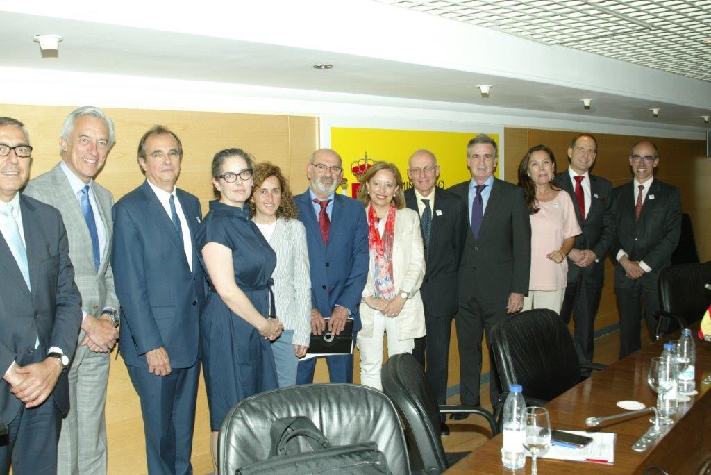 Panel de las relaciones comerciales entre España y Canadá foto 1